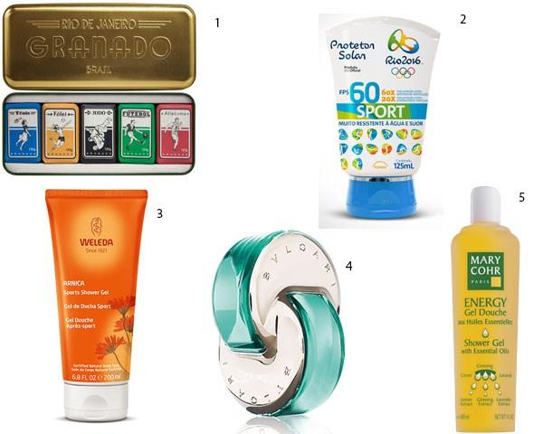 Produtos para o corpo em clima olímpico! (Foto: Divulgação)