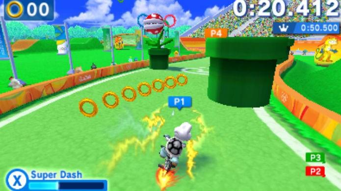 Os Plus Events divertem em Mario & Sonic at the Rio 2016 Olympic Games (Foto: Divulgação/Nintendo)
