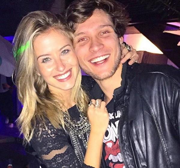 Barbara e o namorado, o ator Maurício Pitanga (Foto: Reprodução/Instagram)