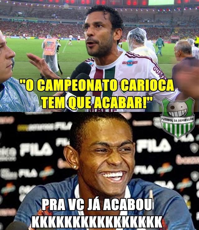 Zoação Fred, Botafogo x Fluminense