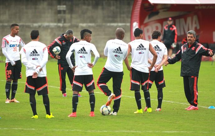Ney Franco treino Flamengo (Foto: Gilvan de Souza / Flamengo)
