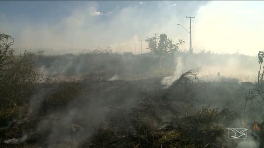 Focos de incêndio começam a preocupar moradores em Imperatriz