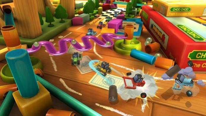 Toybox Turbos tem modos de jogo criativos, mas que não podem ser escolhidos livremente (Foto: Divulgação) (Foto: Toybox Turbos tem modos de jogo criativos, mas que não podem ser escolhidos livremente (Foto: Divulgação))