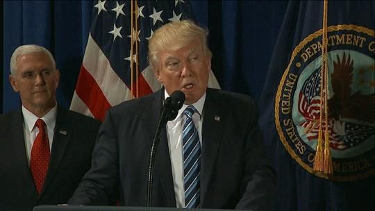Trump diz que grande conflito é possível, ao comentar crise com Coreia do Norte