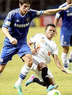 Lucas PIazon amistoso Chelsea (Foto: EFE)
