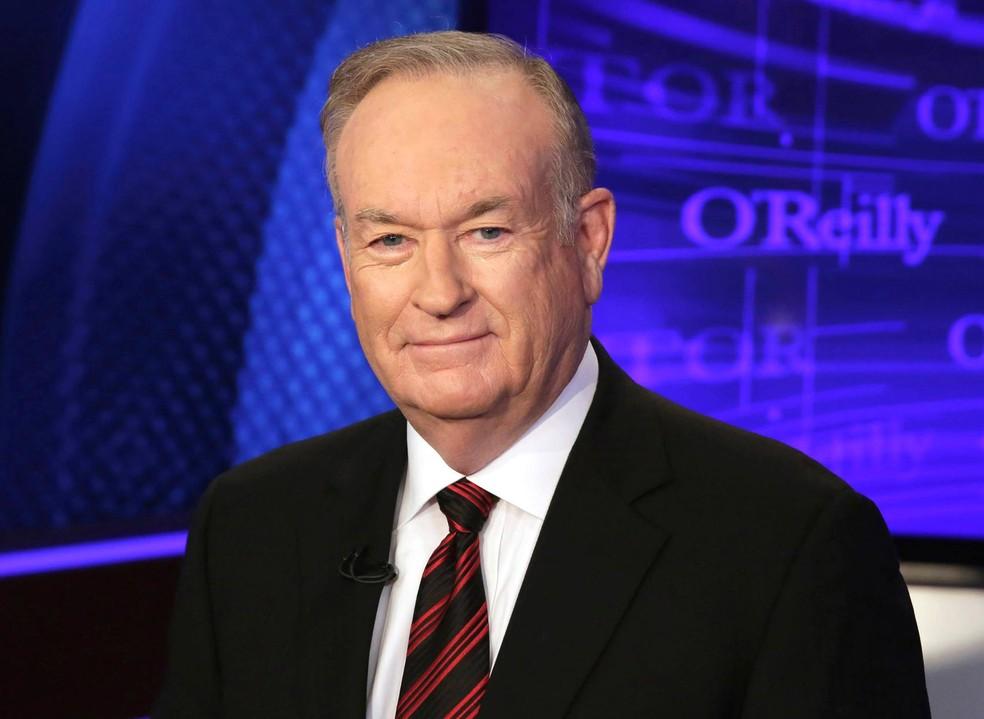 Apresentador da Fox News Bill O'Reilly foi acusado de assédio sexual por várias mulheres (Foto: Richard Drew/AP)