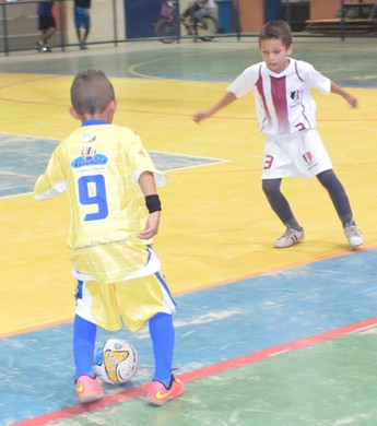 Futsal Sub-9, Falcão 12 x Caxiense (Foto: Nailson Wapichana)