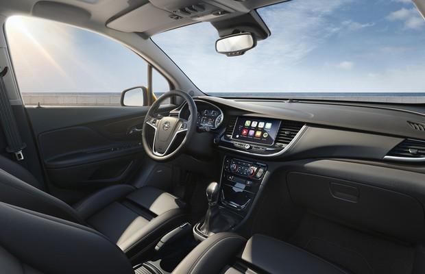 Interior do Opel Mokka X (Foto: Divulgação)