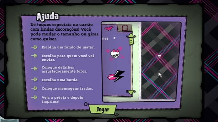 Monster High Mensagem Monstro (Foto: Divulgação)