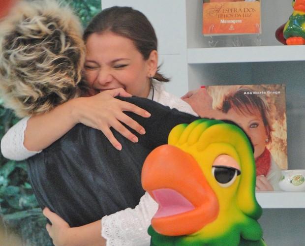 Pela quarta vez, Milena Toscano vence prova e está livre da Panela de Pressão (Foto: Mais Você / TV Globo)