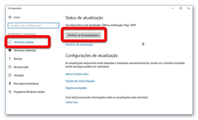 Instalando as atualizações através do Windows Update (Foto: Reprodução/Helito Bijora)  (Foto: Instalando as atualizações através do Windows Update (Foto: Reprodução/Helito Bijora) )