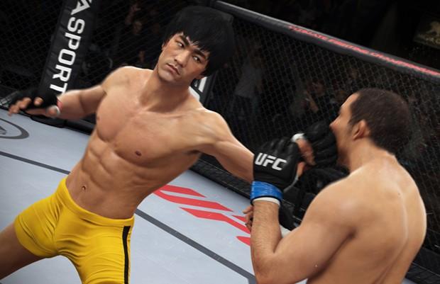 Bruce Lee será lutador selecionável em 'EA Sports UFC' (Foto: Divulgação/EA Sports)