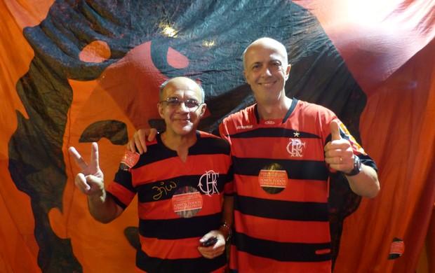 Bandeira de Mello e Wallim (Foto: Vicente Seda / Globoesporte.com)