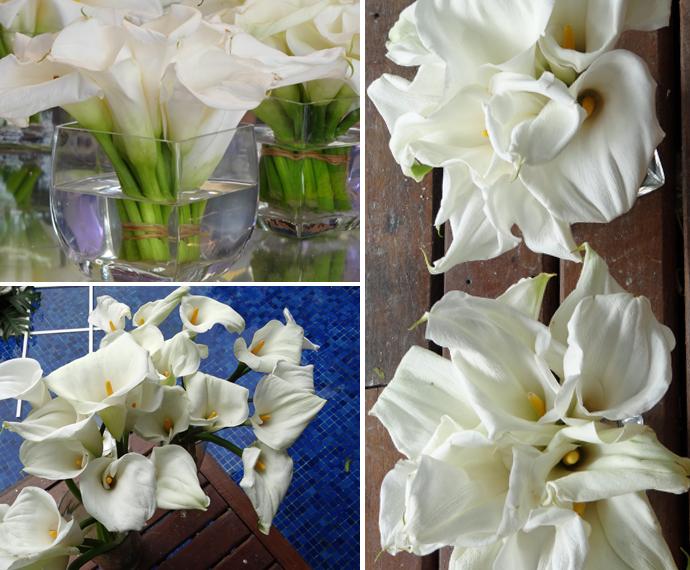 Flor + vidro = perfeição (Foto: Taís Moreno/Gshow)