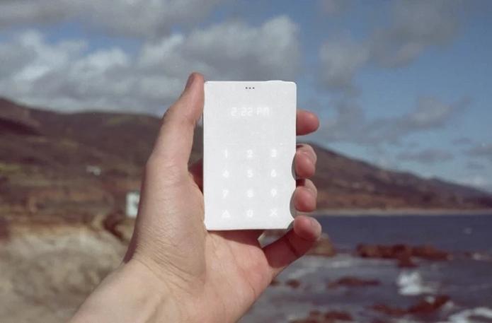 The Light Phone foi lançado com sucesso no Kickstarter (Foto: Divulgação)