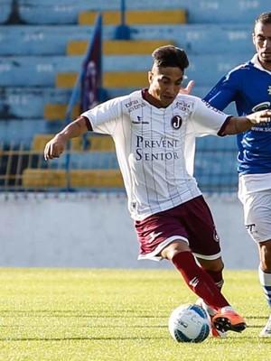 Nerylon, novo reforço do Boavista (Foto: Ale Vianna/Divulgação C.A. Juventus)