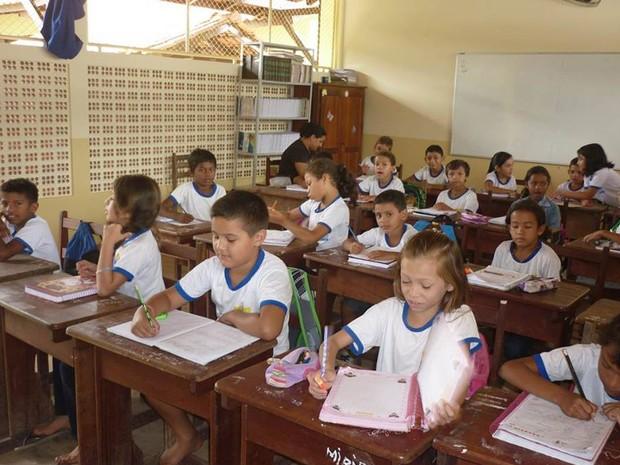 Ao todo são 59.840 alunos matriculados nas escolas municipais da região (Foto: Adonias Silva/G1)
