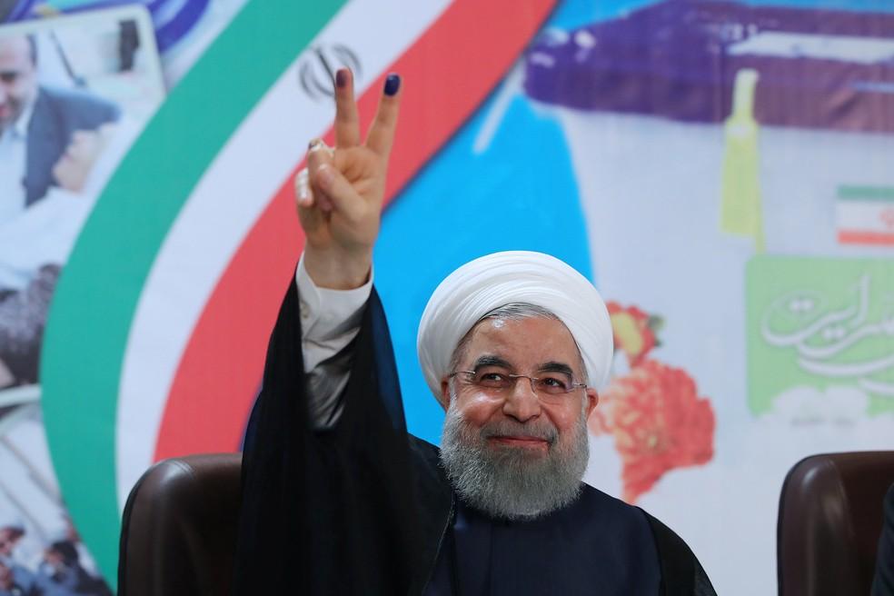 Hassan Rouhani é o atual presidente do Irã e o favorito à presidência do país (Foto: Reuters)