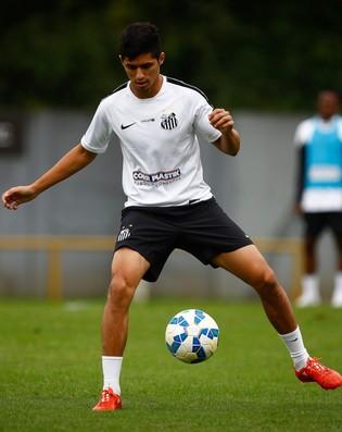 Daniel Guedes Santos (Foto: Ricardo Saibun / Divulgação Santos FC)