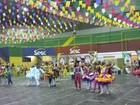 Com animação e colorido, quadrilhas participam do 6º Festival Regional