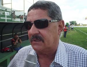 Pedrinho Albuquerque, técnico do Alecrim-RN (Foto: Jocaff Souza)
