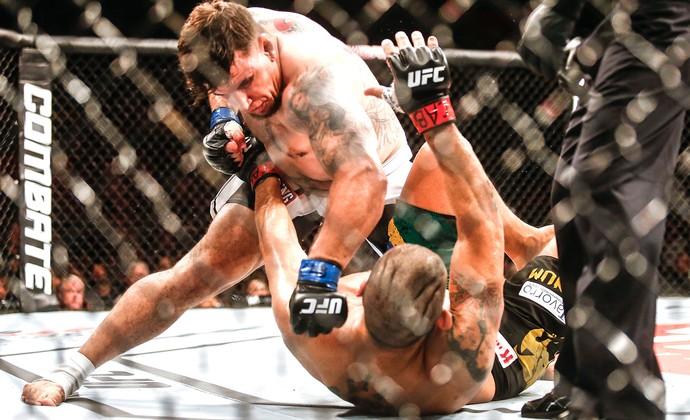 Antônio Pezão x Frank Mir, UFC (Foto: Wander Roberto / Inovafoto)