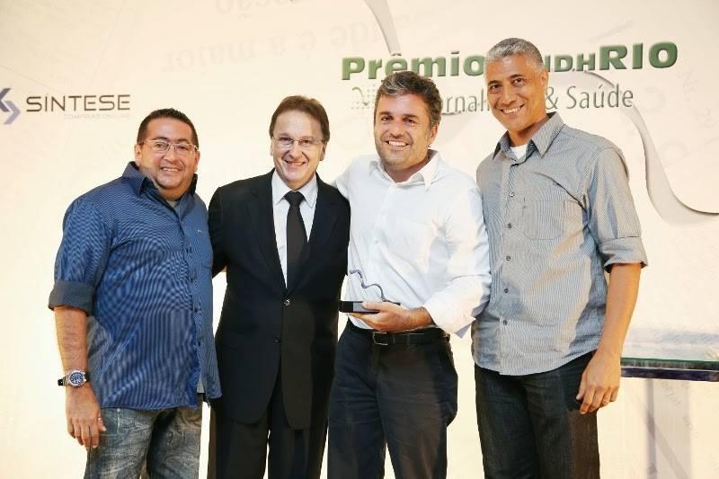 Prêmio Sindhrio de Jornalismo & Saúde (Foto: Divulgação/ GloboNews)
