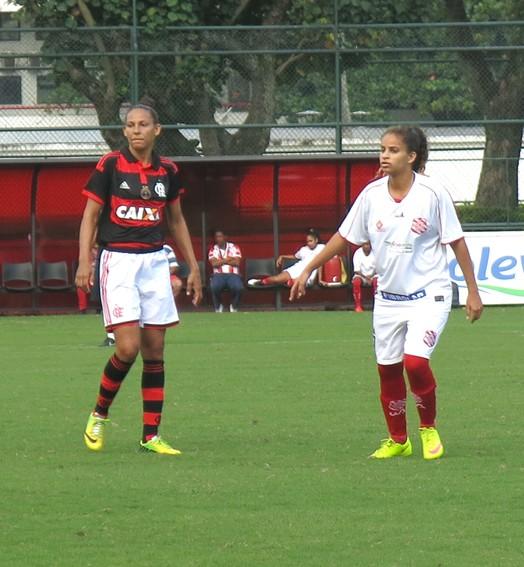 Esmagadoras  (Jessica Mello / GloboEsporte.com)