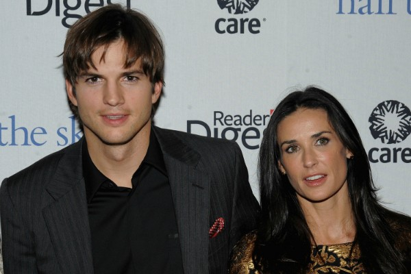 Ashton Kutcher e Demi Moore (Foto: Getty Images)
