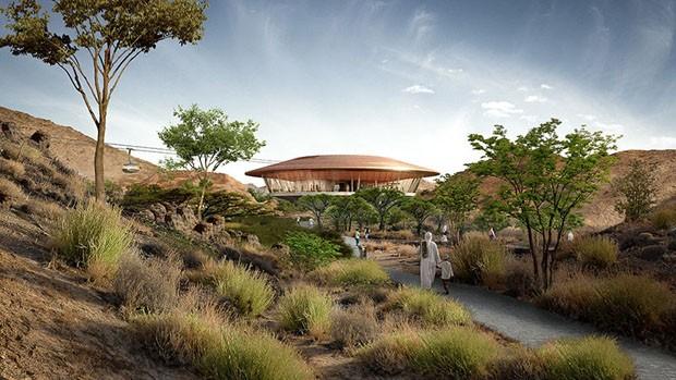 País árabe vai abrigar um dos maiores jardins botânicos do mundo (Foto: Divulgação)