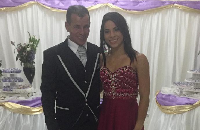 Ingrid Oliveira com o pai (Foto: Reprodução / Instagram)