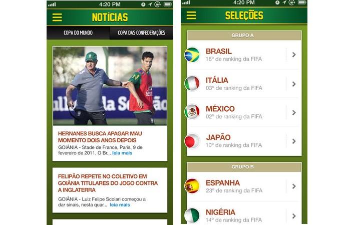 Torce Brasil App (Foto: Reprodução/iTunes)
