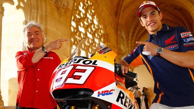 """BLOG: Mundial de MotoGP - Ángel Nieto, sobre os títulos de Márquez: """"Quem tem que começar a se preocupar é Agostini"""" -"""