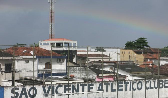 Portuguesa Santista e São Vicente (Foto: Antonio Marcos)