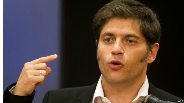 Axel Kicillof, ministro da Economia da Argentina (Foto: AFP)