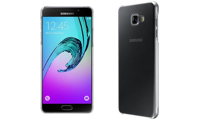 Capa discreta protege a traseira do celular e laterais (Foto: Divulgação/Samsung)
