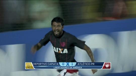 Atlético-PR vence o Capiatá fora e entra no grupo do Fla na Libertadores