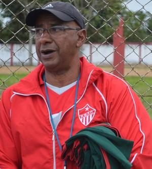 José Araújo, o Zezito, treinador Rio Branco-AC (Foto: Duaine Rodrigues)