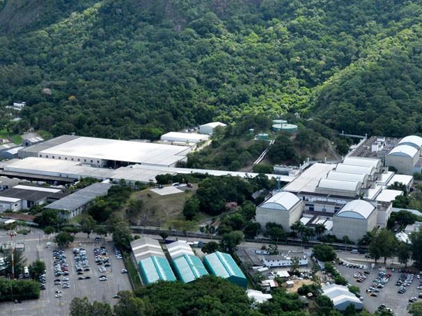 A Central Globo de Produção (Projac) tem 1 milhão de metros quadrados de área verde recuperada e preservada (Foto: Divulgação Rede Globo)