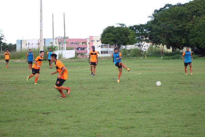treino Flamengo-PI CFAP (Foto: Wenner Tito)