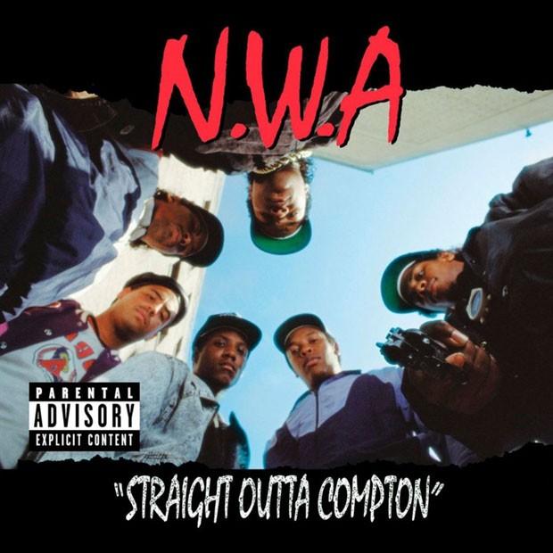 Capa de 'Straight Outta Compton' (Foto: Reprodução)