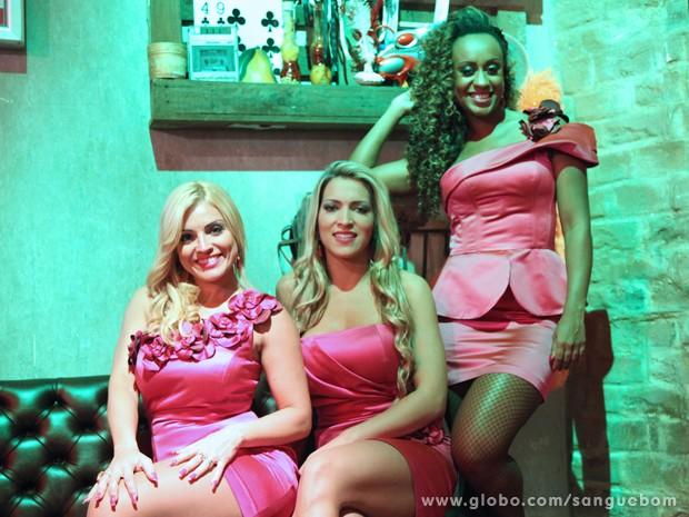 As mulheres frutas comparecem em peso nas últimas emoções de Sangue Bom (Foto: Jacson Vogel/TV Globo)