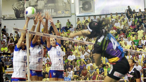Vôlei Futuro x Rio de Janeiro semifinais (Foto: Pierre Duarte/Vipcomm)