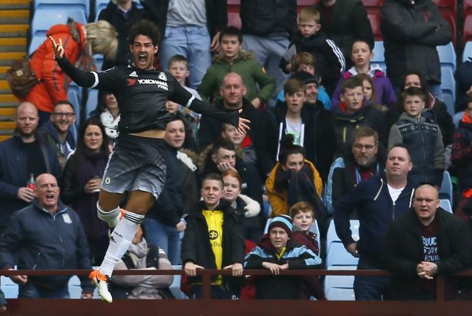 Gol Alexandre Pato Aston Villa x Chelsea (Foto: Reuters)