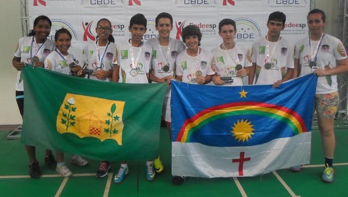 Estudantes de Iati vão ao mudial de badminton  (Foto: Divulgação / Erem)