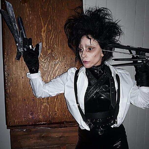 Lady Gaga no Halloween (Foto: Instagram/Reprodução)