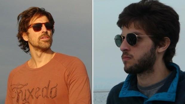 A Lei do Amor: Gianecchini e Chay aprendem a velejar  (Alessandra Albuquerque/Gshow)