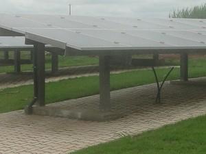 Foram investidos R$ 180 mil na construção do parque de energia fotovoltaica (Foto: Carolina Carettin/CCS-UFSCar)