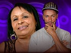 Zezinha fala da vida com o sobrinho Valter (BBB / TV Globo)