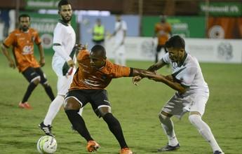 Com um gol em cada tempo, Rio Branco-ES e Real Noroeste empatam